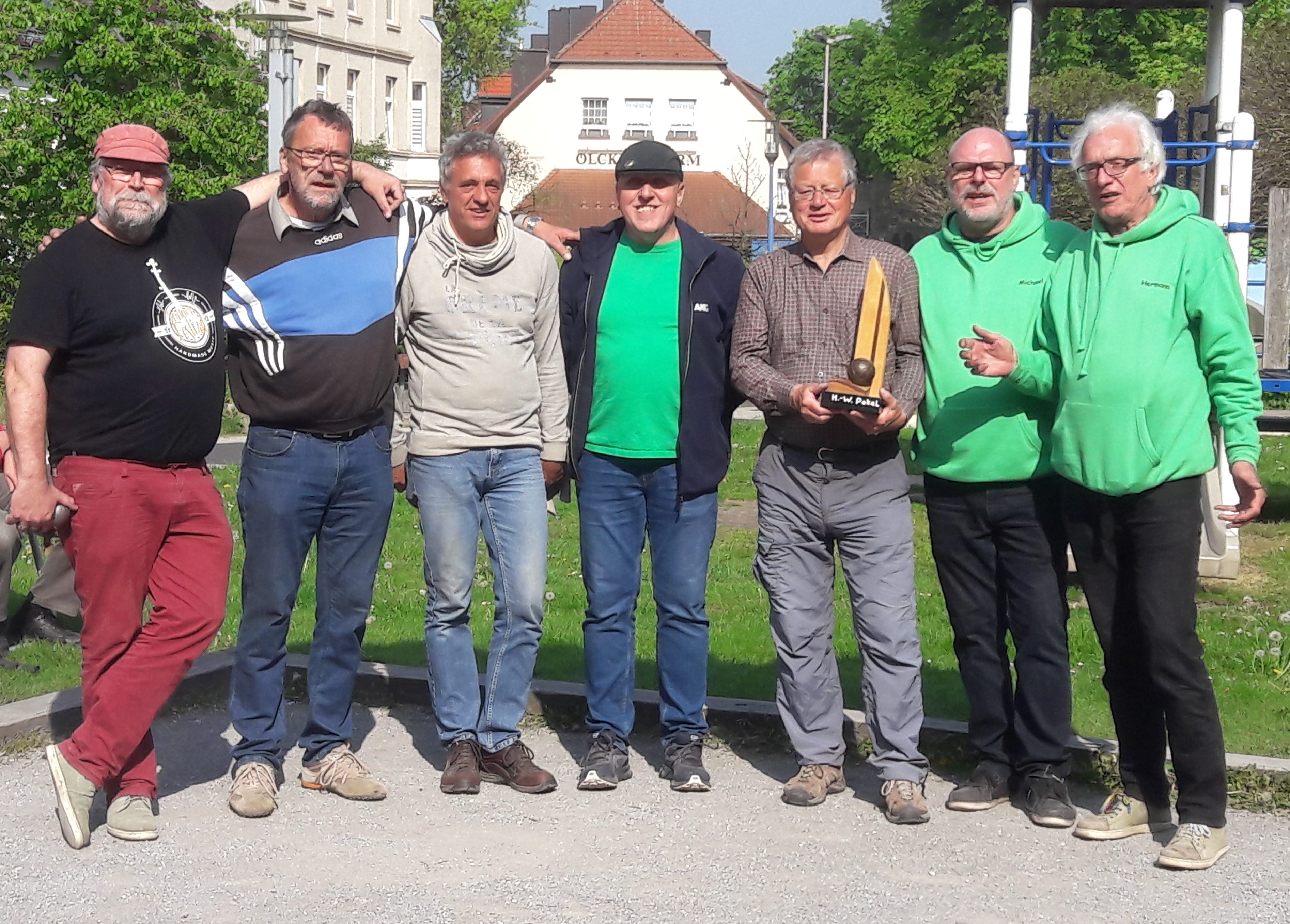Jan, Ulli,Gisi, Ralf, Norbert, Michael und Hermann
