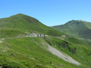 Militäranlangen auf dem Brenner Grenzkamm