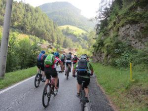 Via Mules Richtung Valler Jöchl