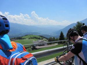 Blick Eisacktal Richtung Brixen
