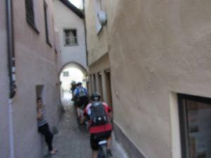 Durch die Gassen von Brixen