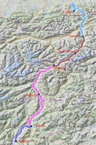 Radtreff - Transalp 2013-003-gesamt-strecke