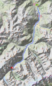 Radtreff - Transalp 2013-tag-2-strecke