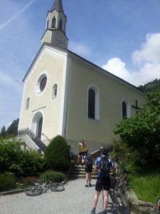 Kirche in Gínzling