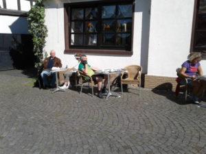 Kaffeepause in Erpel