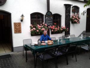 Frühstück am Weingut Barth