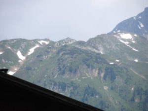 Radtreff Alpencross 2013 - IMG_0687 Rueckblick auf das Pfitscher Joch Haus