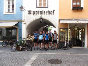 Gruppenfoto vor der Abfahrt