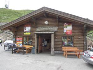 Edelweißhütte am Jaufenpass