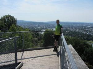 Blick aufs Deutsche Eck in Koblenz