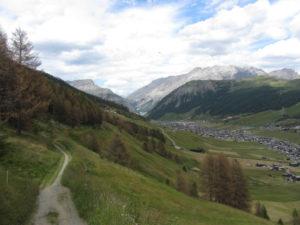 Oberhalb von Livigno