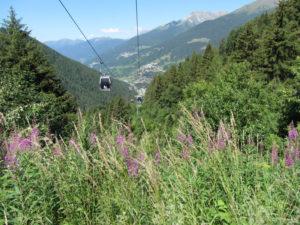 Seilbahn zum Tornale Pass aus Pont di Legno