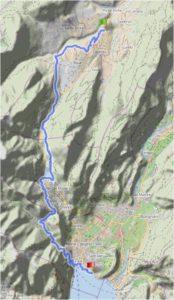 Radtreff-Transalp 2018 Tag 6 Ponte Arche-Gardasee